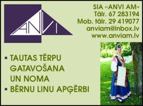 """""""ANVI AM"""", SIA reklāma Rīgas domes amatpersonu un politiķu kontaktinformācijas katalogā"""