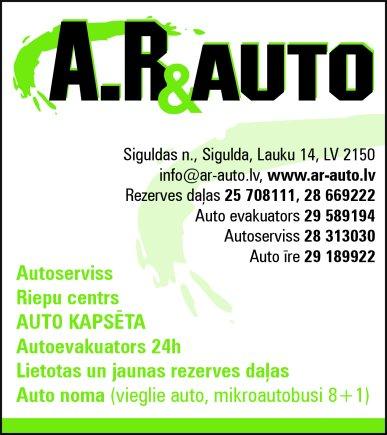 """""""AR & auto"""", SIA reklāma Rīgas domes amatpersonu un politiķu kontaktinformācijas katalogā"""