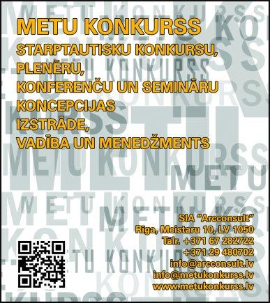 """""""Arcconsult"""", SIA reklāma Rīgas domes amatpersonu un politiķu kontaktinformācijas katalogā"""