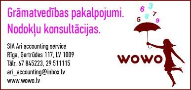 """""""Ari Accounting Service"""", SIA reklāma Rīgas domes amatpersonu un politiķu kontaktinformācijas katalogā"""