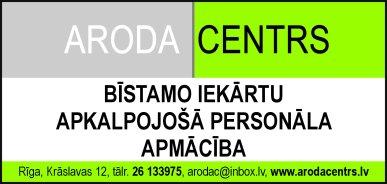 """""""Aroda centrs"""", SIA reklāma Rīgas domes amatpersonu un politiķu kontaktinformācijas katalogā"""