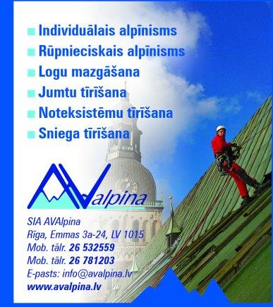 """""""AVAlpina"""", SIA reklāma Rīgas domes amatpersonu un politiķu kontaktinformācijas katalogā"""