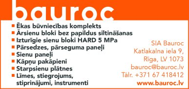 """""""Bauroc"""", SIA reklāma Rīgas domes amatpersonu un politiķu kontaktinformācijas katalogā"""