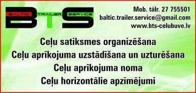 """""""Baltic Trailer Service"""", SIA reklāma Latvijas pašvaldību amatpersonu un politiķu kontaktinformācijas katalogā"""