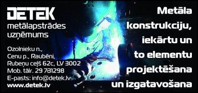 """""""Detek"""", SIA reklāma Rīgas domes amatpersonu un politiķu kontaktinformācijas katalogā"""