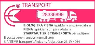 """""""EEMR Transport"""", SIA reklāma Rīgas domes amatpersonu un politiķu kontaktinformācijas katalogā"""