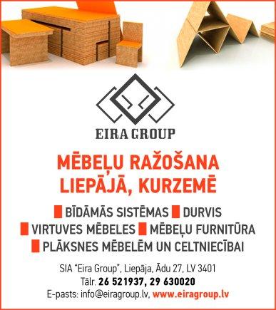 """""""Eira Group"""", SIA reklāma Latvijas pašvaldību amatpersonu un politiķu kontaktinformācijas katalogā"""