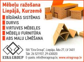 """""""Eira Group"""", SIA reklāma Rīgas domes amatpersonu un politiķu kontaktinformācijas katalogā"""