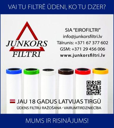 """""""Eirofiltri"""", SIA reklāma Latvijas pašvaldību amatpersonu un politiķu kontaktinformācijas katalogā"""