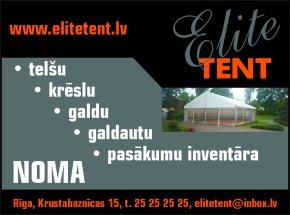 """""""Elite Tent"""", SIA reklāma Rīgas domes amatpersonu un politiķu kontaktinformācijas katalogā"""