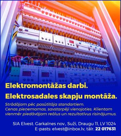 """""""Elvest"""", SIA reklāma Latvijas pašvaldību amatpersonu un politiķu kontaktinformācijas katalogā"""