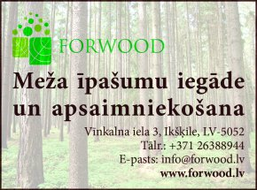 """""""FORWOOD"""", SIA reklāma Rīgas domes amatpersonu un politiķu kontaktinformācijas katalogā"""