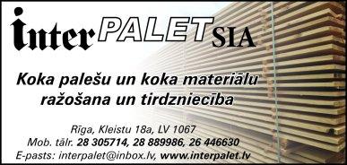 """""""Interpalet"""", SIA reklāma Rīgas domes amatpersonu un politiķu kontaktinformācijas katalogā"""