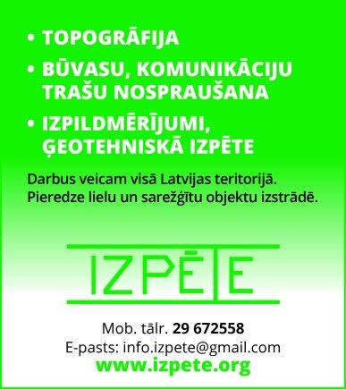 """""""Izpēte"""", SIA reklāma Rīgas domes amatpersonu un politiķu kontaktinformācijas katalogā"""