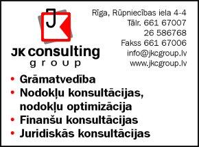 """""""JK Consulting Group"""", SIA reklāma Rīgas domes amatpersonu un politiķu kontaktinformācijas katalogā"""