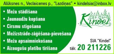 """""""Kindel"""", SIA reklāma Rīgas domes amatpersonu un politiķu kontaktinformācijas katalogā"""