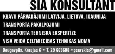 """""""Konsultant"""", SIA reklāma Rīgas domes amatpersonu un politiķu kontaktinformācijas katalogā"""
