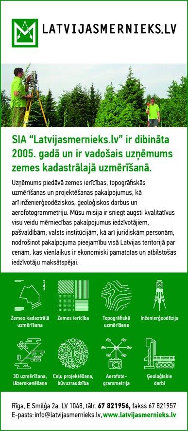 """""""Latvijasmernieks.lv"""", SIA reklāma Latvijas pašvaldību amatpersonu un politiķu kontaktinformācijas katalogā"""
