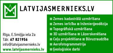 """""""Latvijasmernieks.lv"""", SIA reklāma Rīgas domes amatpersonu un politiķu kontaktinformācijas katalogā"""