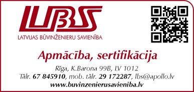 Latvijas Būvinženieru savienība reklāma Rīgas domes amatpersonu un politiķu kontaktinformācijas katalogā