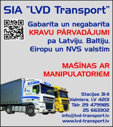 """""""LVD Transport"""", SIA reklāma Latvijas pašvaldību amatpersonu un politiķu kontaktinformācijas katalogā"""