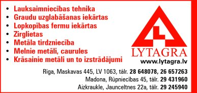 """""""Lytagra"""", AS reklāma Rīgas domes amatpersonu un politiķu kontaktinformācijas katalogā"""