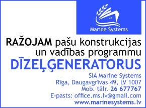 """""""Marine Systems"""", SIA reklāma Rīgas domes amatpersonu un politiķu kontaktinformācijas katalogā"""