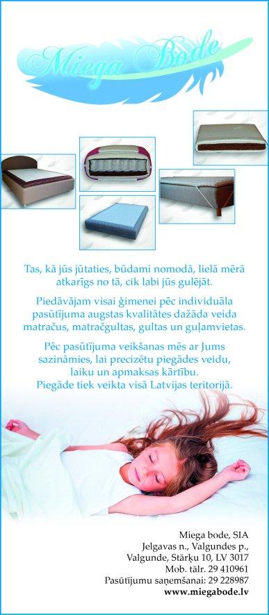 """""""Miega bode"""", SIA reklāma Rīgas domes amatpersonu un politiķu kontaktinformācijas katalogā"""