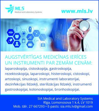 """""""Medical and Laboratory Systems"""", SIA reklāma Rīgas domes amatpersonu un politiķu kontaktinformācijas katalogā"""