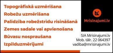 """""""Mrisinajumi.lv"""", SIA reklāma Latvijas pašvaldību amatpersonu un politiķu kontaktinformācijas katalogā"""