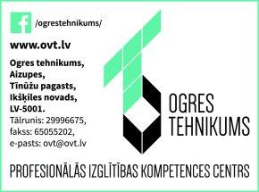 Ogres tehnikums reklāma Rīgas domes amatpersonu un politiķu kontaktinformācijas katalogā