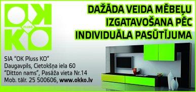 """""""OK Pluss KO"""", SIA reklāma Latvijas pašvaldību amatpersonu un politiķu kontaktinformācijas katalogā"""