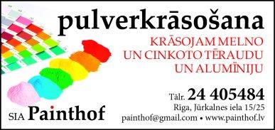 """""""Painthof"""", SIA reklāma Rīgas domes amatpersonu un politiķu kontaktinformācijas katalogā"""