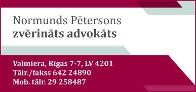 Pētersons N. zvērināts advokāts reklāma Rīgas domes amatpersonu un politiķu kontaktinformācijas katalogā