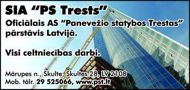 """""""PS Trests"""", SIA reklāma Rīgas domes amatpersonu un politiķu kontaktinformācijas katalogā"""