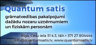 """""""Quantum satis"""", SIA reklāma Rīgas domes amatpersonu un politiķu kontaktinformācijas katalogā"""