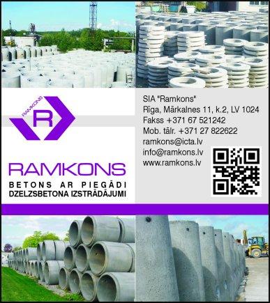 """""""Ramkons"""", SIA reklāma Latvijas pašvaldību amatpersonu un politiķu kontaktinformācijas katalogā"""