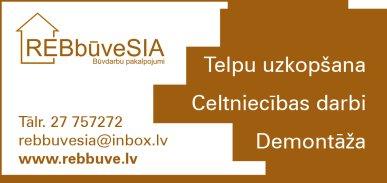 """""""REB būve"""", SIA reklāma Rīgas domes amatpersonu un politiķu kontaktinformācijas katalogā"""
