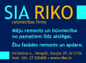 """""""Riko"""", SIA reklāma Rīgas domes amatpersonu un politiķu kontaktinformācijas katalogā"""