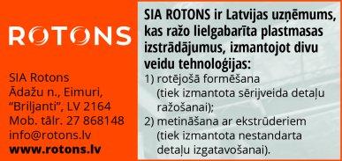 """""""Rotons"""", SIA reklāma Rīgas domes amatpersonu un politiķu kontaktinformācijas katalogā"""