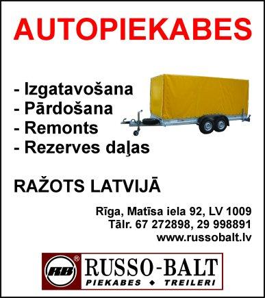 """""""Russo-Balt"""", SIA reklāma Latvijas pašvaldību amatpersonu un politiķu kontaktinformācijas katalogā"""