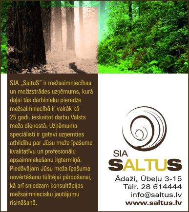 """""""SaltuS"""", SIA reklāma Latvijas pašvaldību amatpersonu un politiķu kontaktinformācijas katalogā"""