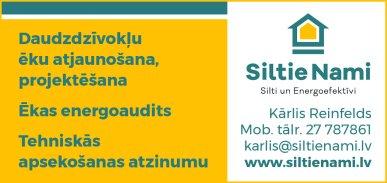 """""""Siltie nami"""", SIA reklāma Latvijas pašvaldību amatpersonu un politiķu kontaktinformācijas katalogā"""