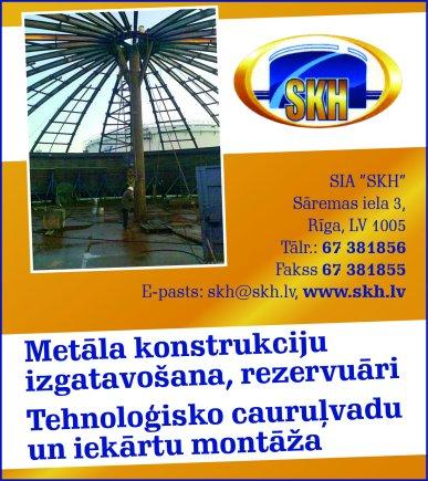 """""""SKH"""", SIA reklāma Latvijas pašvaldību amatpersonu un politiķu kontaktinformācijas katalogā"""