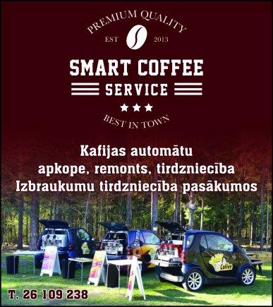 """""""SmartCoffee Serviss"""", SIA reklāma Rīgas domes amatpersonu un politiķu kontaktinformācijas katalogā"""