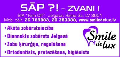 """""""Pain Off"""", SIA reklāma Rīgas domes amatpersonu un politiķu kontaktinformācijas katalogā"""