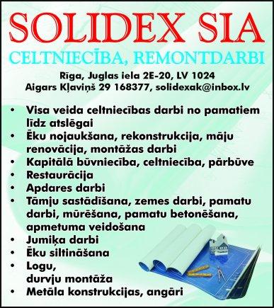 """""""Solidex"""", SIA reklāma Latvijas pašvaldību amatpersonu un politiķu kontaktinformācijas katalogā"""
