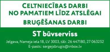 """""""ST būvserviss"""", SIA reklāma Rīgas domes amatpersonu un politiķu kontaktinformācijas katalogā"""