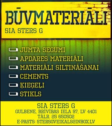 """""""Sters G"""", SIA reklāma Latvijas pašvaldību amatpersonu un politiķu kontaktinformācijas katalogā"""