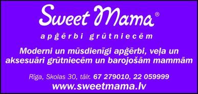"""""""Sweet Mama"""", SIA, Veikals reklāma Rīgas domes amatpersonu un politiķu kontaktinformācijas katalogā"""